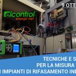 Webinar 09 Ottobre 2020: Tecniche e strumenti per la misura elettrica degli impianti di rifasamento industriale
